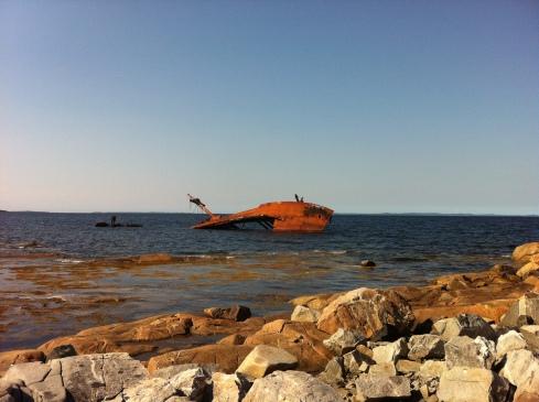 shipwreck, anyone?