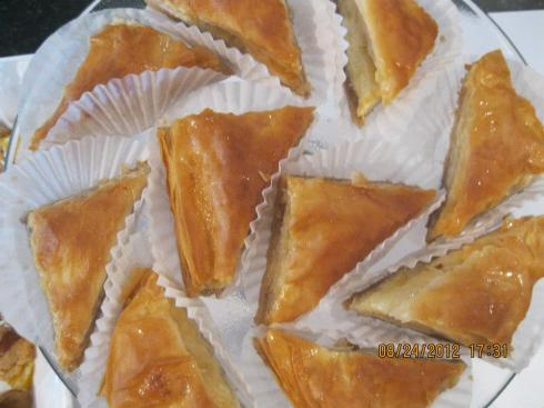Did I mention the Baklava?