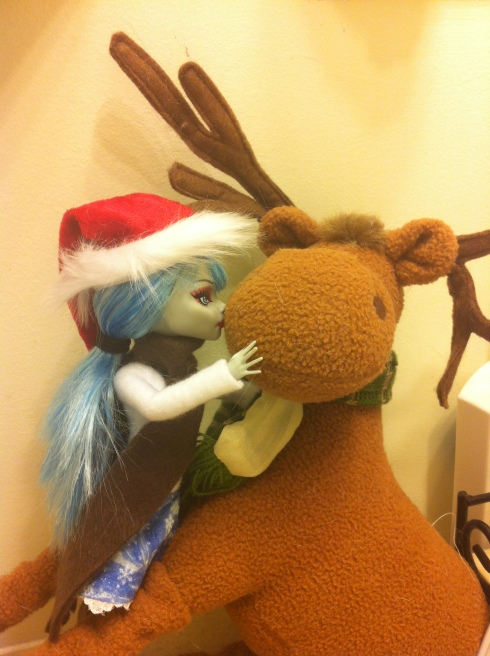 Don't worry, Amy Snow is safe. The moose thing, not so much.